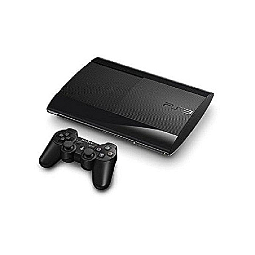 Ps3 Supper Slim Console 500 GB With 21 Games Fifa18 And Pes18