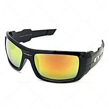 2730e453e1f Oil Drim Mirror Sunglasses Black  yellow