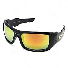 d077cc63b16 Oil Drim Mirror Sunglasses Black  yellow