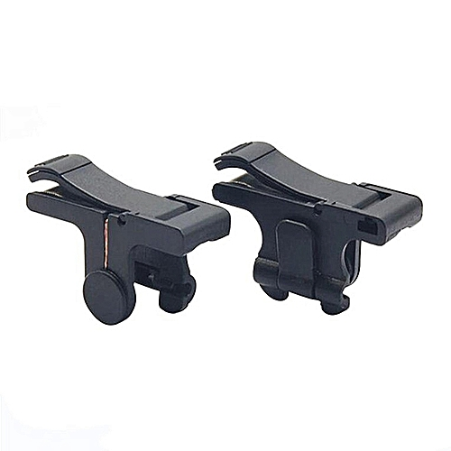 Phone Gaming Trigger Fire Button Aim Key Mobile Game Shooter Controller Black