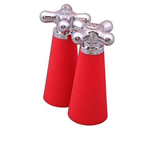 2pcs Salt and pepper shaker- red