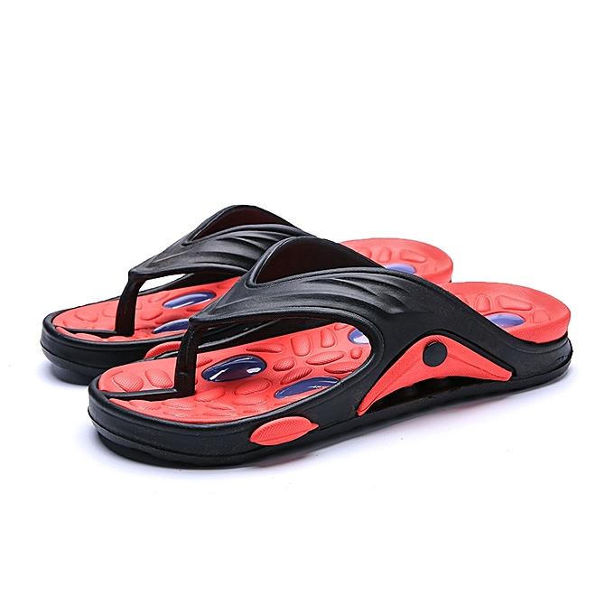 983d6f79c Flip Flops Men Outdoor Light Weight Slippers Comfort Massage Beach Thongs  Sandals