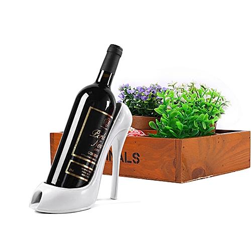 High Heel Shoe Wine Bottle Holder Stylish Wine Rack Gift Basket Accessories For