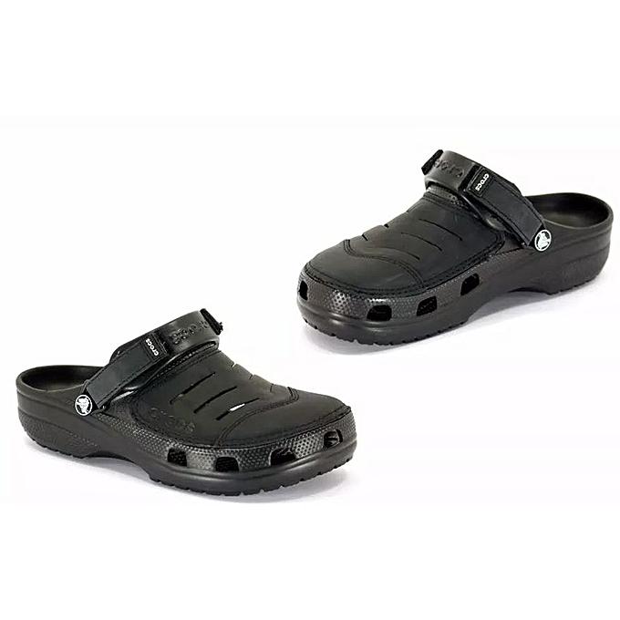 937b7452af5667 Men s Croc Sandal - BLACK