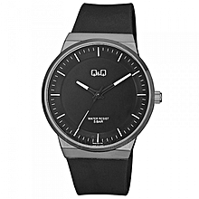 9b616df43f5 Gents Smart Casual Rubber Strap Watch - QB06J502Y