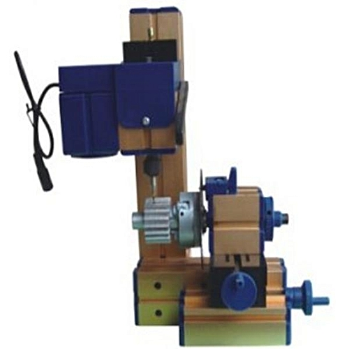 DIY Mini Lathe Rotary Spin Indexing Milling Bench Drilling Machine