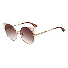 Cateye Sunglasses Sunglass Women Retro Round Travel Party Designer Girls  Sunglasses 2018 New Arrival 904L 49e0716eb4