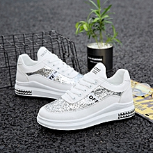 Beautiful Female Sneakers Canvas White a3a1cd984