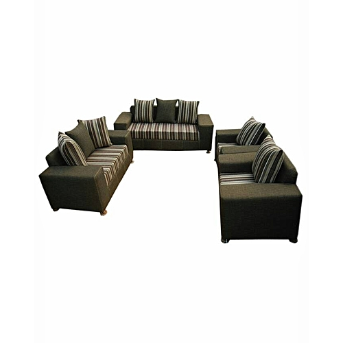 Exotic Brown 7 Seater Sofa. 'ORDER NOW AND GET A FREE OTTOMAN'(Delivery To Only Lagos Costomers).