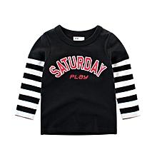cae4e8374 Boys Cotton Long Sleeve T-Shirts Dinosaur Shirt Graphic Tees