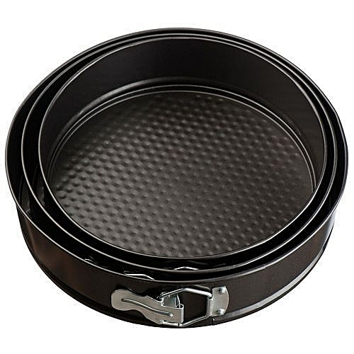 Round Cake Pan-Set Of 3.