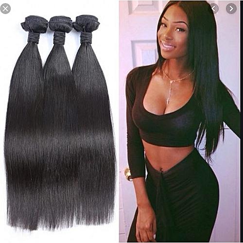 Mongolian Straight Human Hair Weavon