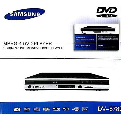 Dvd Player MPEG-4 Black