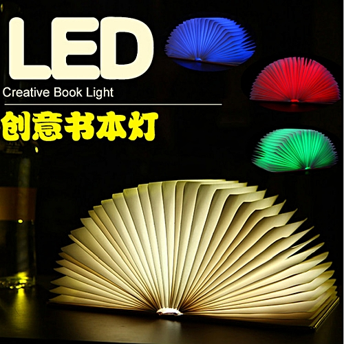 Book Light (Small) Warm Light Night Light