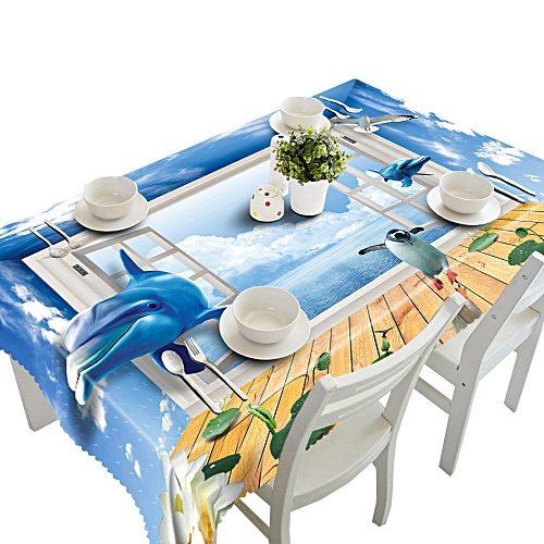 Dtrestocy Dining Multi Functional Table Cloth For Party Picnic Table Cloth G
