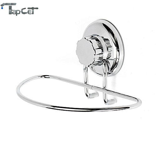 Mrosaa Bathroom Kitchen Strong Vacuum Suction Cup Stainless Steel Towel Racks Towel Rings