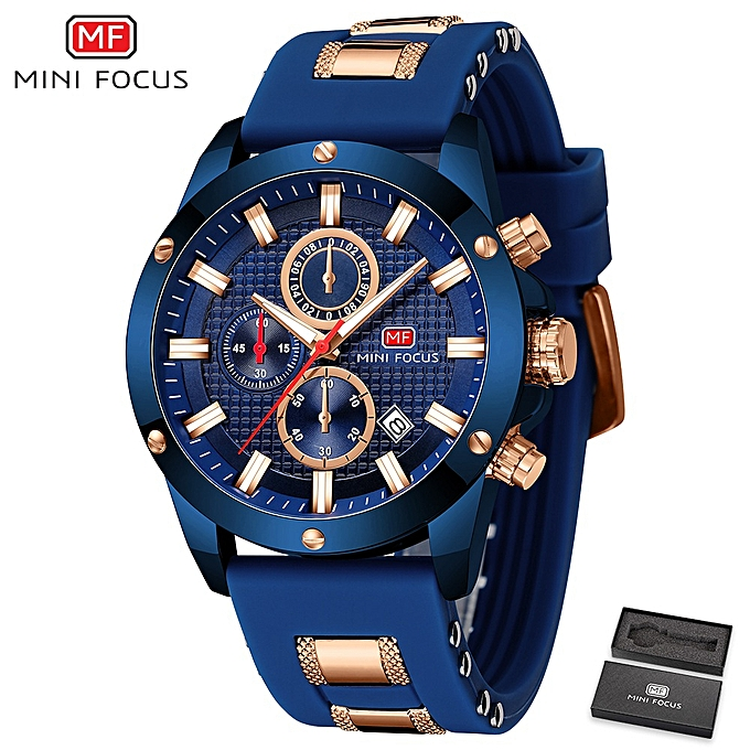 1ba565a1044 Top Luxury Brand Watch Famous Fashion Sports Cool Men Quartz Watches  Waterproof Wristwatch For Male Blue