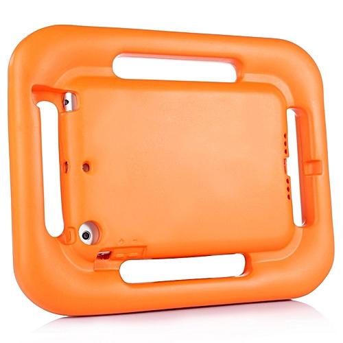 EVA Steering Wheel Style Handle Protective Case For IPad Mini 1 / 2 / 3(Orange)