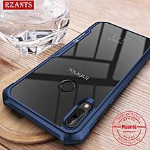 Rzants For Infinix Smart 2 X5515 Hard Case【Four Corner】Transparent Silica Gel Matte