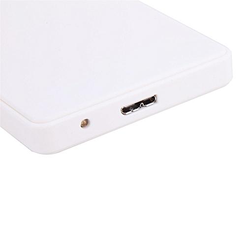 Equivalentt 2.5Inch HDD External Hard Case USB3.0 Micro B External Hard Drive Disk Enclosure