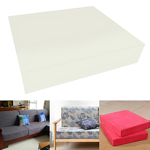24'' Square High Density Seat Foam Sheet Upholstery Cushion Replacement # 12.5cm