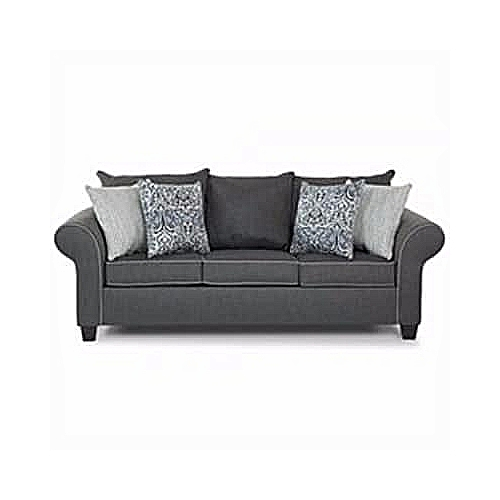 PAWA FURNITURE SUPER GRAY 3 Seater Sofa 'ORDER NOW AND GET A FREE OTTOMAN' (Delivery To Lagos Only)