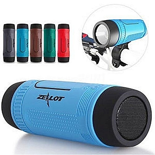 Official S1 Bluetooth Speaker Power Bank & Flash Light - Tf Card With FM