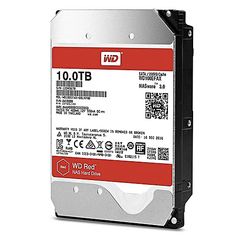 Red 10TB NAS Hard Disk Drive WD100EFAX
