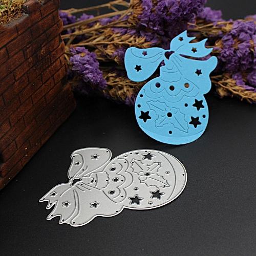 Merry Christmas Metal Cutting Dies Stencils Scrapbooking Embossing DIY Crafts F-Sliver