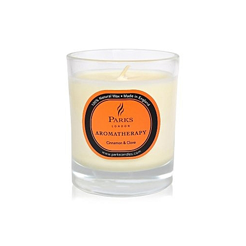 Aromatherapy Cinnamon & Clove Scented Candle