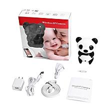 Panda Wifi P2P Wireless IP Camera Night Vision Baby Video Monitoring Black & White, used for sale  Nigeria