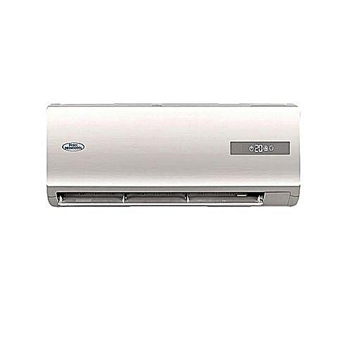 1HP Supercool Split Air Conditioner HSU-09SPW1 + Installation Kit - White
