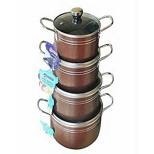 8PCS Non Stick Cooking Pots