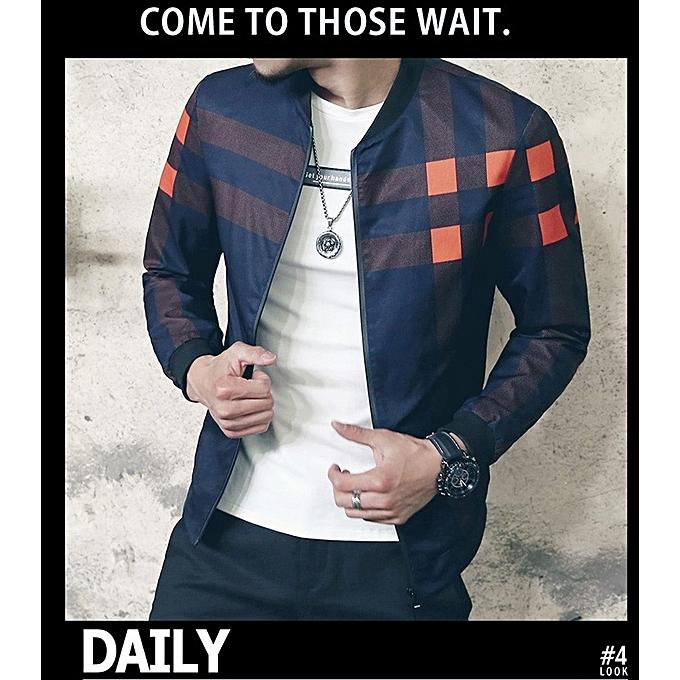 534dcb364e5 New Fashion Brand Jacket Men Trend Korean Slim Fit Mens Designer Clothes Men  Casual Jacket-