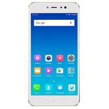 A1 Lite 5.3-Inch HD (3GB, 32GB ROM) Android 7.0 Nougat, 20MP Back Camera + 13MP Front Camera Smartphone + Case, 4000mAh Battery - Gold