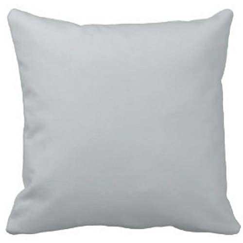 Plain Grey Pillow