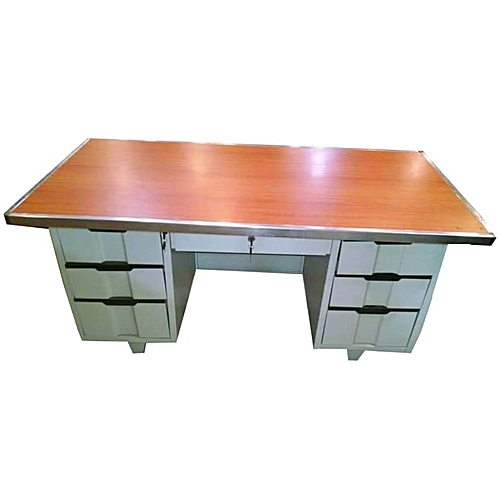 Office Table - Metal Base 5ft