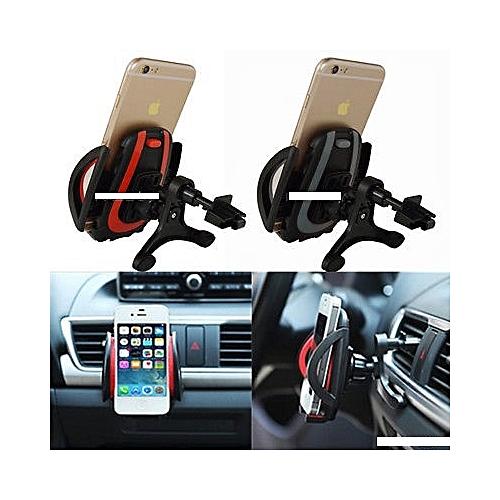 Universal 360°Rotation Car Phone Holder Bracket Mount For GPS Mobile Phone Holder