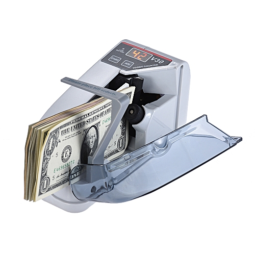Mini Handy Bill Cash Banknote Counter Money Currency Countin