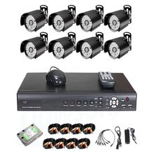 8 CCTV CAMERA Set / 8-Channel DVR