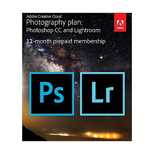 Creative Cloud With 20GB Cloud Storage - 12-Month Subscription, Key Card