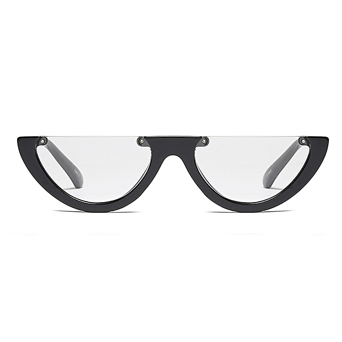 8b8f977a31 ... Vintage Cat Eye Glasses Frame Clear Fashion Flat Top Transparent  Eyeglasses Small Frame Women Female- ...
