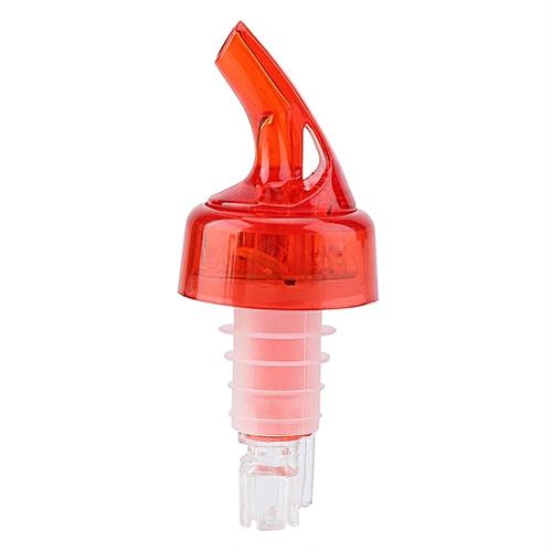 Plastic Quick Shot Liqour Bottle Drinks Pourer 7 Colors Change Bar Wine Dispenser