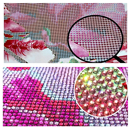 Lodaon 5D Embroidery Paintings Rhinestone Pasted DIY Diamond Painting Cross Stitch