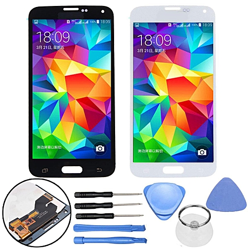 White LCD Display Screen Touch Digitizer For Samsung Galaxy S5 I9600 G900 G900F