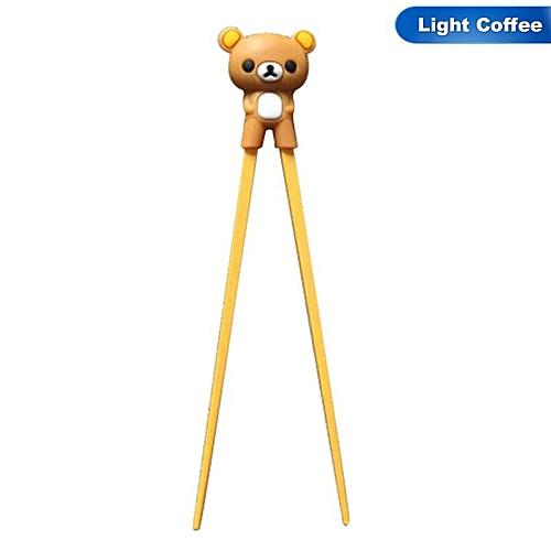 1 Pair Bear Panda Learning Training Chopsticks For Kids Chinese Chopstick Learner