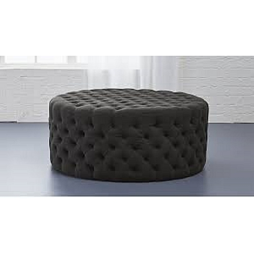 Jack Leather Tuffed Ottoman (DELIVERY ONLY IN LAGOS)