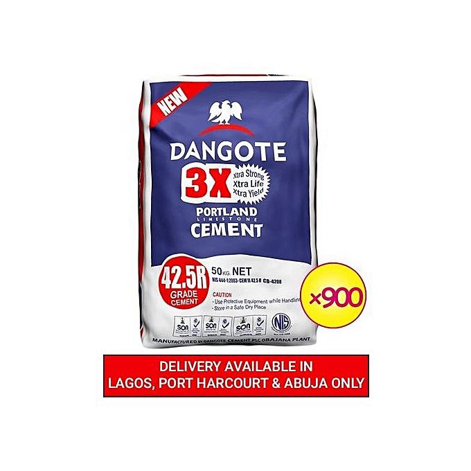 900 Units Of Cement - Bundle