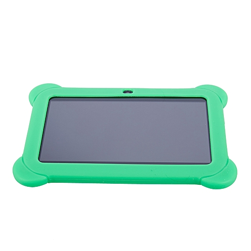 4GB Android 4.4 Wi-Fi Tablet PC Beautiful 7 Inch Five-Point Multitouch Display - Special Kids Edition Green