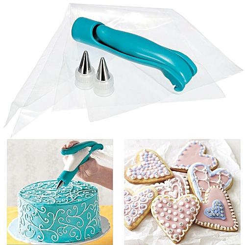 Pastry Icing Piping Bag Nozzle Fondant Cake Cupcake Decorating Pen Set Tool NEW